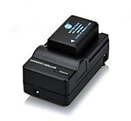 7,4 V 1500mAh DSTE DMW-BMB9E Li-Ionen-Akku und uns Stecker für Panasonic Lumix DMC-FZ40 und mehr