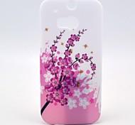 Blumen blühen Muster Hülle für HTC One 2 M8
