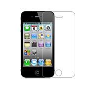 0.3mm 2.5D de protection anti-déflagrante trempé écran en verre Film pour iPhone 4 / 4S - Transparent