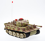 Light and Sound Effect Radio Control Infrared Battle Tank (Random Color)