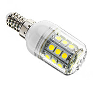 E14 3 W 27 SMD 5050 350 LM Cool White Dimmable Corn Bulbs AC 220-240 V