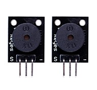 Compatible Arduino Passive Speaker Buzzer Module - Black (2PCS)