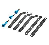 Blu lega di alluminio di estensione Mount Arms con vite per GoPro HD Hero 2/Hero 3