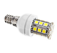 Bombillas LED de Mazorca Regulable T E14 4W 30 SMD 5050 400 LM Blanco Fresco AC 100-240 V