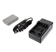 ismartdigi-Oly BLS-5 1150mAh, caricabatterie 7.4V Batteria + auto per OLYPUSE-PL2 E-PL3 E-P3 EPL5 E-PM1 PM2 PM3