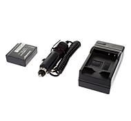 ismartdigi-Pana BLE9 940mAh, cargador 7.2V batería de la cámara + coche de Panasonic GF3 GF5 S6K GF5GK