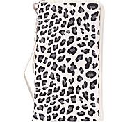 Leopard Print Portefeuille Conçu cas de Full Body avec sangle pour iPhone (couleurs assorties)