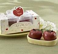 Delicious Red Apple Design Salt & Pepper(2 PCS)