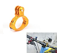 G-203-Golden Universal Aluminum Bicycle Mount Clip for GoPro HD Hero 2 / 3 / 3+