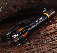 Lights LED Flashlights/Torch / Handheld Flashlights/Torch LED 2000 Lumens 5 Mode Cree XM-L T6 18650Impact Resistant / Strike Bezel /
