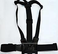 Negro Ajustable Pecho Mount Harness para GoPro Hero 3 + / 3/2/HD