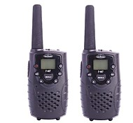 "F-667 462.5625-462.725MHz 2W / 0,5 W 1,0 ""LCD de 8-CH Walkie Talkie Set - Negro"