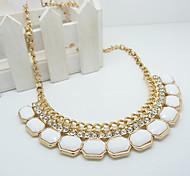 z&cristal collar (cuello) multicolor pendiente de la aleación de la manera x® (1 unidad)
