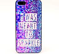 I Was Me Ant para Sparkle Patrón duro para el iPhone 5/5S