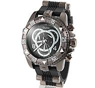 Hombre Reloj Militar Cuarzo Aleación Banda Marca-