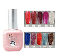 1PCS CH Soak-off Pink Bottle Astral Glitter UV Color Gel Polish NO.111-120(15ml,Assorted Color)