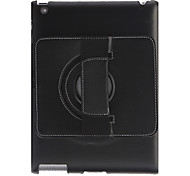 Protective PC Back Case with Stand and 360 Degree Rotation Hand Strap Holder for iPad 2/3/4 (Assorted Colors)