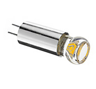 G4 1.5W 1pcs COB 120lm LM Warm wit LED-spotlampen DC 12 V
