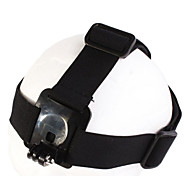 Elastic Adjustable Head Strap with Simple Anti-slide Glue for Gopro Hero 3+/3/2/1