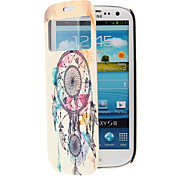 Special Design Pattern Full Body Case with Window for Samsung S3