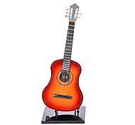 Mini portátil de la guitarra eléctrica de juguete con Soporte (Funciona con 2 baterías AA no incluidas)