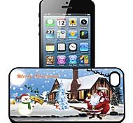 Coque de protection Motif 3D Santa Claus pour IPhone4/4S