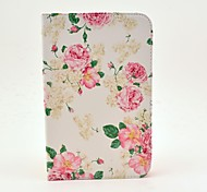 Rose Flower Pattern Full Body Case met standaard voor Samsung Galaxy Tab 2 7.0 P3100