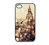 Дело Лондон Биг Бен шаблон пластиковых трудный для iPhone 5/5S