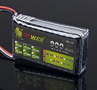 ЛЕВ 7.4V 900mAh 25C LiPo батареи (JST разъем)