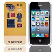 Il kit modello Big Lebowski Hard Case con 3 Paia protezioni per iPhone 4/4S