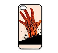 Evil Dead Pattern Plastic Hard Case for iPhone 4/4S