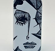 Sharp Eyes Pattern Hard Case for iPhone 4/4s