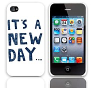 New Day Design Hard Case with 3-Pack Screen Protectors for iPhone 4/4S