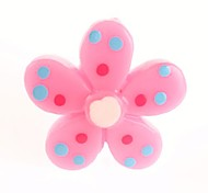 Lovely Plastic Flower Style 3.5 MM Anti-dust Earphone Jack for iPhone and iPad