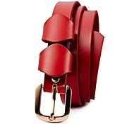 Dolce Stile Split Leather di EVERGOLD signora cinghia di vita due colori
