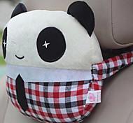 Lovely Cartoon Panda Pattern Car Auto Seat Back Cushion Cuddle Pillow Sofa Soft Cushion