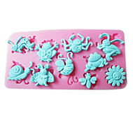 3D Animal Patterned Silicone Mold