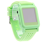 Fashion Comfortable Convenient MP4 Smart Watch Player (Green)
