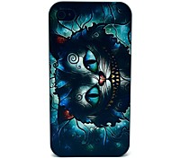 Retro Groeiende Cat cartoon patroon PC Hard hoesje voor iPhone 4/4S