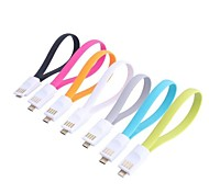Mini USB a Micro USB Data cable de carga para Samsung I9000/I9100/9300 (23cm-Cable)