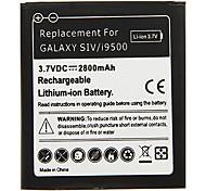 Telefono cellulare Batteria 2800mAh nero per Samsung Galaxy SIV/i9500 (2 pezzi)