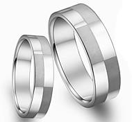 Classic Fashion Titanium Steel Couples Ring Box Sanded Buddhist Monastic Discipline