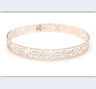 Women Wide Belt,Casual Alloy All Seasons