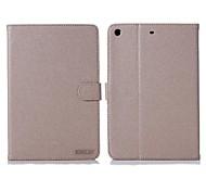 Enkay Gold Sand Pattern-Qualitäts-Schutz Smart-Case mit Ständer für iPad Air (verschiedene Farben)