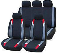 9 PCS Set Car Seat Covers Universal Fit  Protection Seat Cleaning Auto Accessories