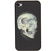 Multi-dimension Skull 3D Changing Pattern Protective Plastic Hard Back Case Cover for iphone 4/4S