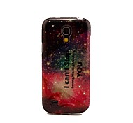 I Can't Stop Loving Missing Needing You Pattern TPU Soft Cover Case for Samsung Galaxy S4 Mini I9190