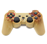 Controller Bluetooth Dual Shock Six Axis inalámbrico para PS3