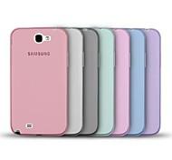Angibabe Jelly Transparente TPU Soft-Tasche für Samsung Galaxy Note 2 / N7100