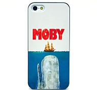 Moby Eat Ship Pattern Hard Case for iPhone 5/5S